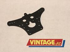 Vintage RC Traxxas Rear Shock Tower Bullet/Hawk/Rad/Blue Eag #2838 Carbon Fiber!