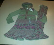 Naartjie Size 5 Tapestry Floral Hooded Dress & Leggings Ming BACK TO SCHOOL NWT
