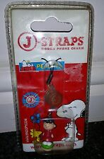 Mobile phone charm peanuts charlie brown lucy by j straps