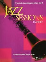 Jazz Sessions Clarinet-Music Book with Cd