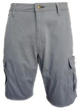 "MEN`S NEW WRANGLER CARGO COMBAT SHORTS SIZE 42""W CASUAL GREY"