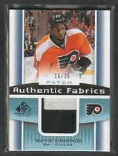2013-14 SP Game Used Authentic Fabrics Patch Wayne Simmonds 16/35