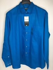 Men's Geoffrey Beene Classic Fit Wrinkle Free Button Up Shirt •Size XL *NWT