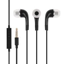 Noir casque écouteur earphone avec micro pr Samsung Galaxy S5 S4 S3 Ace Note 3 4