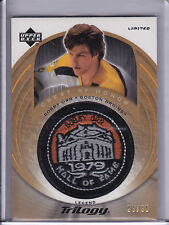 2003-04 UD Trilogy Bobby Orr Hall of Fame Patch Variation Limited #d/30