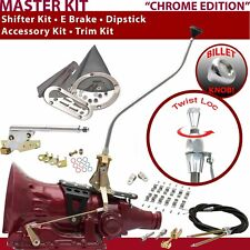 C4 Shifter Kit 23 Swan E Brake Cable Clamp Clevis Trim Kit Dipstick For E9945
