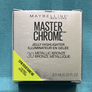 Maybelline Master Chrome Jelly Highlighter Bronze Metallic #30 New/ In Box