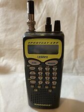 Uniden Bearcat Sportcat SC180 Handheld Scanner Manual And Charger