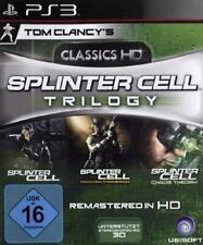 Playstation 3 SPLINTER CELL Trilogy 1+2+3 * Sehr guter Zustand