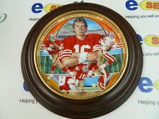 "JOE MONTANA ""FINDING AWAY TO WIN"" FROM JOE MONTANA PLATE COLLECTION"
