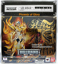 NEW BANDAI SAINT SEIYA MYTH SOUL OF GOLD GOD CLOTH EX LEO AIOLIA W/ BONUS USA