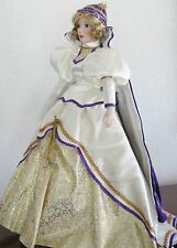 """Gorham Musical Doll """"GUINEVERE"""" Legendary Heroines Collection Plays """"Camelot"""""""