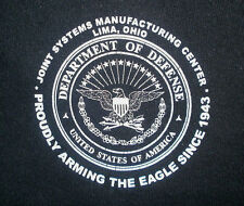 JOINT SYSTEMS MANUFACTURING HOODIE Defense Military Abrams Tank Factory Lima Oh