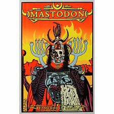 MASTODON - MUSIC BLACKLIGHT POSTER - 24X36 FLOCKED BAND 1976