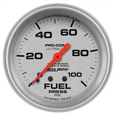 Autometer 4412 Ultra-Lite Fuel pressure Gauge 2-5/8 in., Mechanical