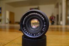 Leica Summicron M 35mm f/2 lens 6 Elements Excellent++ Mint glass M3 M6 M7 M10