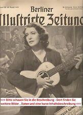 1939 Geburtstagszeitung Zeitschrift vom / zum 78. Geburtstag Geschenk Jubiläum