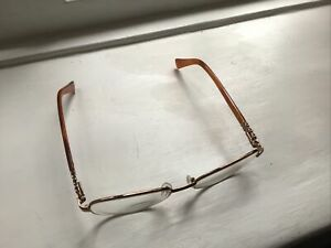 PIERRE CARDIN eyeglasses METAL TORTOISE glasses frame Never Worn