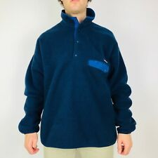 Patagonia Synchilla Snap-T Fleece Men's XL Navy Blue Pullover