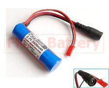2Pcs Sanyo 18650 1S1P Li-ion Rechargeable Battery 3.7V 2600mAh W/PCM inside US