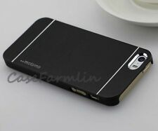 Motomo Brushed Aluminium Hard Case For iphone SE 5S 5 6 6S Free Screen Protector