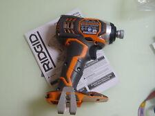 New Ridgid R86034 18 volt X4 Hyper Lithium Impact Driver use 18v AC840083 R84008