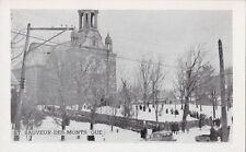 Carte Postale Église ST SAUVEUR DES MONTS Quebec Canada 1940s Postcard 18