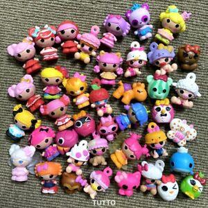 Random 10PCS Lalaloopsy Dolls Mini Tinies Figure Cake Topper Doll Toy -No Repeat