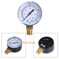 Pool Spa Filter Valve Universal Pressure Gauge 1 4 Quot Mpt 0