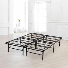Foundation Metal Heavy Duty Platform Bed Frame Queen Box Spring Mattress