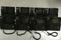 Lot of 8 CISCO CP-8961-C-K9 VOIP Phone W/ Handset and Stands