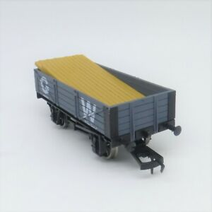 Dapol OO Gauge GWR 4 plank with load (4F-040-005) - Brand New