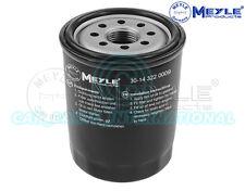 Meyle Oil Filter, Screw-on Filter 30-14 322 0009