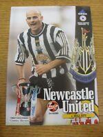 15/10/1997 Newcastle United v Hull City [Football League Cup] . Footy Progs/Bobf