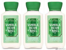 *LOT OF 3* Bath & Body Works VANILLA BEAN NOEL Travel Size Lotion 3 Fl Oz