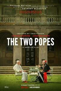 The Two Popes (2019)  BRAND NEW Free Shipping With Tracking
