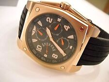 New Rare INVICTA Rose Gold Multi-Function Quartz Sport Watch. Box. Papers.