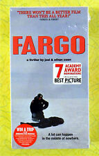 Fargo ~ New VHS Movie ~ 1996 Coen Brothers Dark Comedy ~ Rare Sealed Video