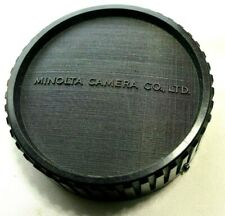 Minolta MD Rear Lens Cap SR MC Rokkor Manual Focus  58mm f1.4 50mm f1.7 Genuine