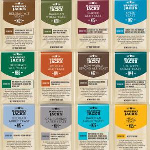 Mangrove Jacks Craft Series Yeast & Finings | Full Range | Ale, Lager, Cider etc