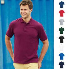 Fruit of the loom Herren Poloshirt Shirt Mann Men dickes Polo Pique Heavy 65/35