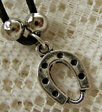 SMALL ~ LUCKY...HORSESHOE ~  NECKLACE -- (GREAT_GIFT)