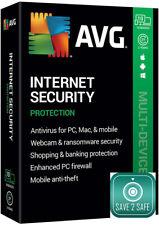 AVG Internet Security 2021 10PC / Geräte / 1 Jahr/ 2 Jahre/ Vollversion