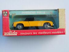 Porsche 914-6 Blechspielzeug, Solido, Nr. 179, unbespielt inkl. Schachtel
