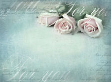 BEAUTIFUL RUSTIC FLORAL CANVAS PICTURE #56 STUNNING SHABBY CHIC FLOWERS CANVAS.