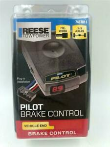 NEW Reese Towpower Pilot Trailer Brake Control 7437811 Pre-Wired 1-3 Axles