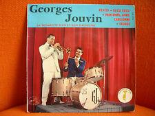 VINYL 45T – GEORGES JOUVIN TROMPETTE & ORCHESTRE : PEPITO + EXODUS + 2 - 60'S