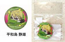 Durarara!! DRRR!! x 2 Gorohamu Can Badge Shizuo Heiwajima Kadokawa Licensed New