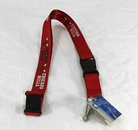 NBA Chicago Bulls Red Lanyard Key Chain W/ Detachable Buckle