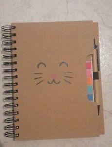 AGENDA diario NOTEBOOK Kawaii + penna e post - it inclusi quaderno
